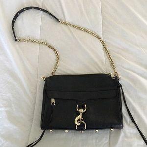 Rebecca Minkoff MAC Handbag Black w/ Gold Hardware